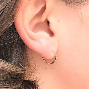🔴Firm Price🔴 Mini Hoop Earrings